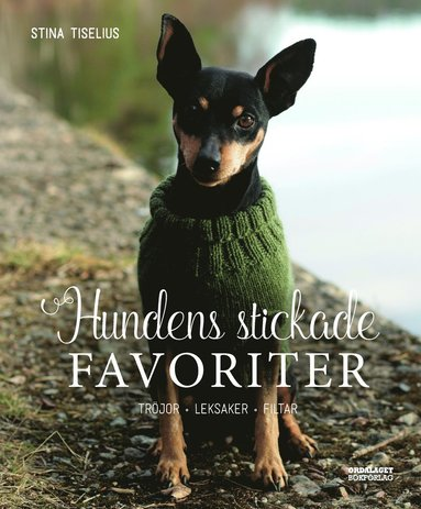 bokomslag Hundens stickade favoriter. Tröjor, leksaker, filtar