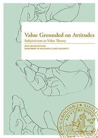 bokomslag Value Grounded on Attitudes