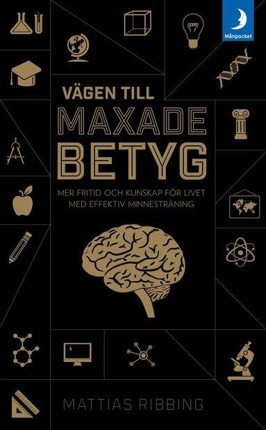 bokomslag Vägen till maxade betyg : mer fritid och kunskap för livet med effektiv minnesträning