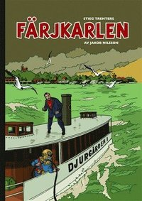 bokomslag Färjkarlen av Stieg Trenter
