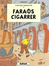 bokomslag Tintins äventyr. Faraos cigarrer
