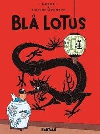 bokomslag Tintins äventyr. Blå lotus