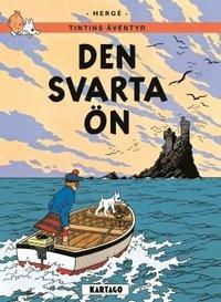 bokomslag Tintins äventyr. Den svarta ön