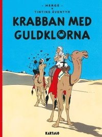 bokomslag Tintins äventyr. Krabban med guldklorna