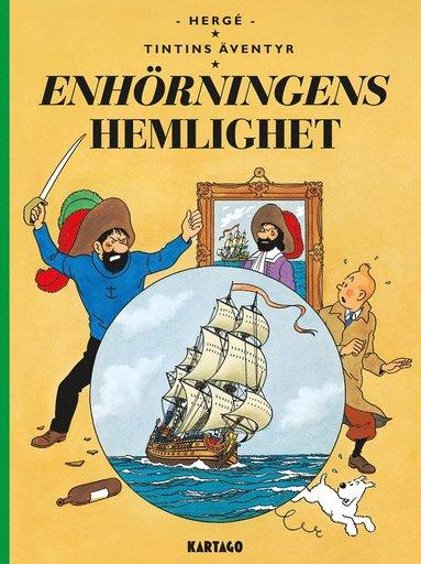 bokomslag Tintins äventyr. Enhörningens hemlighet