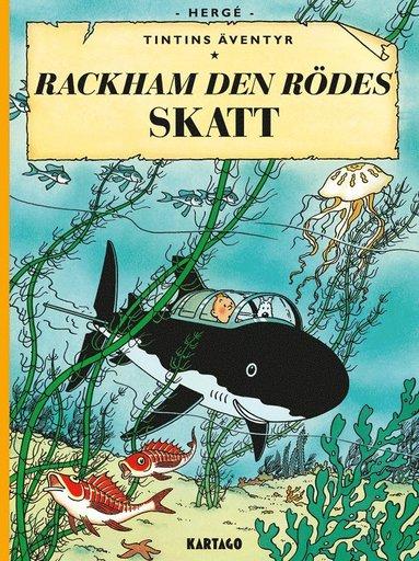 bokomslag Tintins äventyr. Rackham den rödes skatt