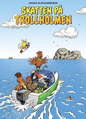 bokomslag Skatten på Trollholmen