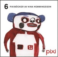 bokomslag 6 Pixiböcker av Nina Hemmingsson