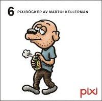 bokomslag 6 Pixiböcker av Martin Kellerman
