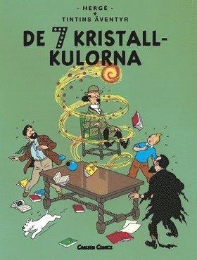 bokomslag Tintins äventyr. De sju kristallkulorna