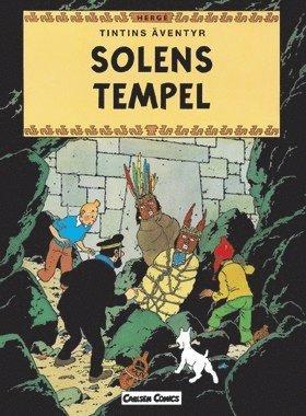bokomslag Tintins äventyr. Solens Tempel