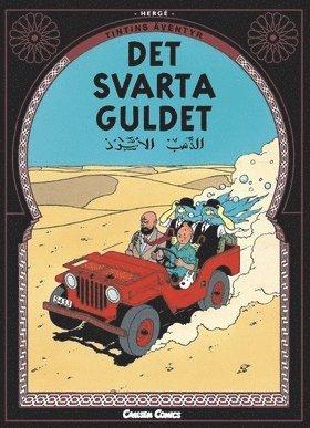 bokomslag Tintins äventyr. Det svarta guldet