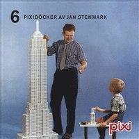 bokomslag 6 Pixiböcker av Jan Stenmark