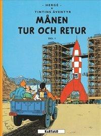 bokomslag Månen tur och retur Del 1