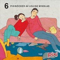 "bokomslag Pixibox: Louise Winblad : 6 pixiböcker med ""Hej hej vardag""."