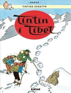 bokomslag Tintins äventyr. Tintin i Tibet