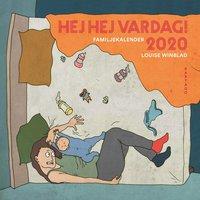 bokomslag Hej hej vardag! Familjekalender 2020