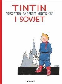bokomslag Tintin i Sovjet