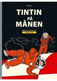 bokomslag Tintin på månen : Månen tur och retur del 1 och 2