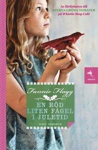 bokomslag En röd liten fågel i juletid