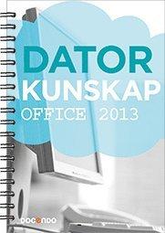 bokomslag Datorkunskap Office 2013