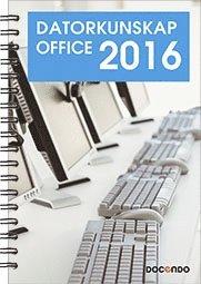 bokomslag Datorkunskap Office 2016