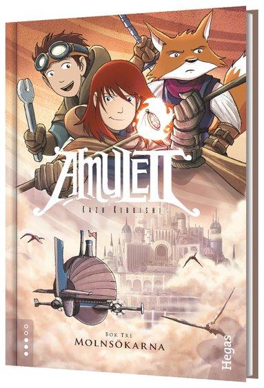 bokomslag Amulett. Molnsökarna
