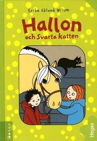 bokomslag Hallon och Svarta katten (bok + CD)