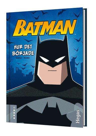 bokomslag Batman - Hur det började