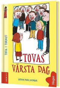 bokomslag Tovas värsta dag (Bok+CD)
