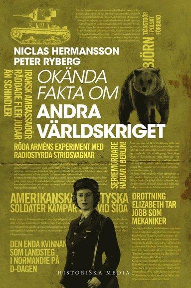 bokomslag Okända fakta om andra världskriget