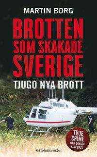 bokomslag Brotten som skakade Sverige : tjugo nya brott