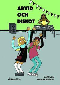 bokomslag Arvid och diskot