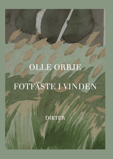 bokomslag Fotfäste i vinden : Dikter