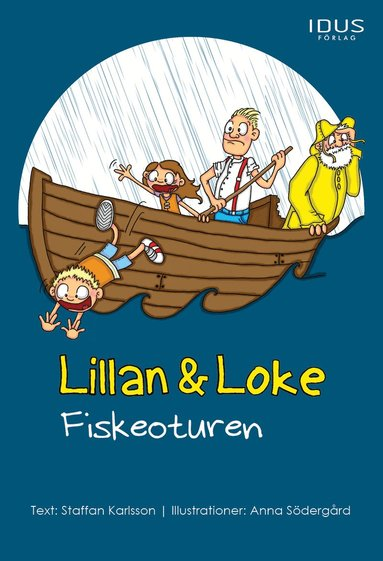 bokomslag Lillan & Loke. Fiskeoturen