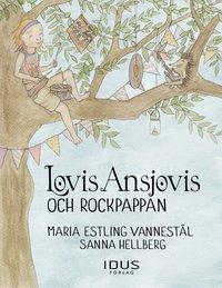 bokomslag Lovis Ansjovis och rockpappan