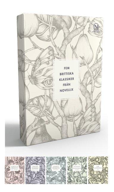 bokomslag Presentask med fem brittiska klassiker