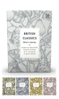bokomslag Box with four British classics