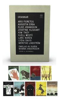 bokomslag Grannar Box med nio noveller