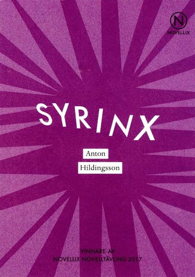 bokomslag Syrinx