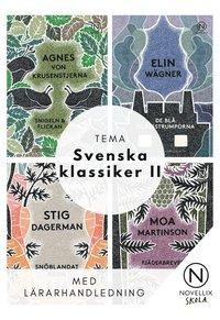 bokomslag Tema Svenska Klassiker II - paket med 32 böcker