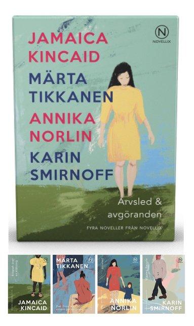 bokomslag Presentask med fyra noveller : Arvsled och avgöranden