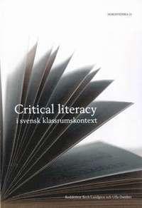 bokomslag Critical literacy