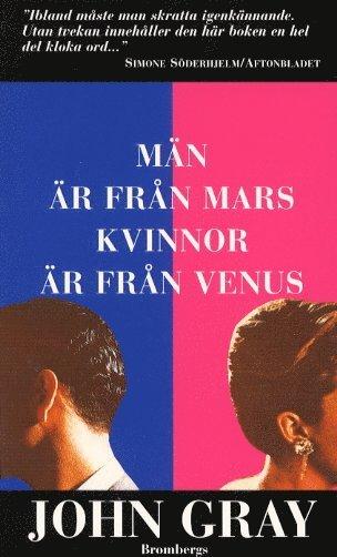 bokomslag Män är från Mars, kvinnor är från Venus
