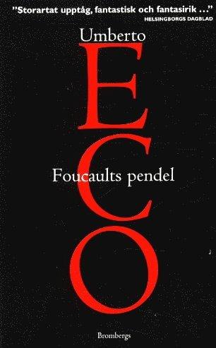 bokomslag Foucaults pendel