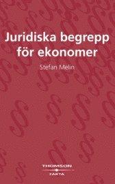 bokomslag Juridiska begrepp för ekonomer