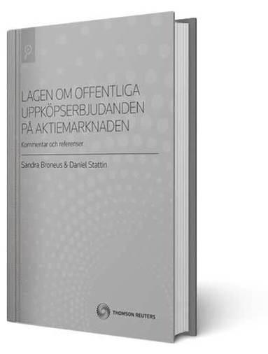 bokomslag Lagen om offentliga uppköpserbjudanden på aktiemarknaden (LUA)