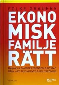 bokomslag Ekonomisk familjerätt