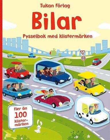 bokomslag Bilar : pysselbok med klistermärken