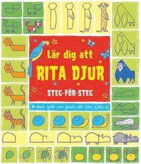 bokomslag Lär dig att rita djur : steg för steg